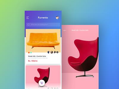 Rent A Furniture manoj bhadana ios app shopping chair furniture rent
