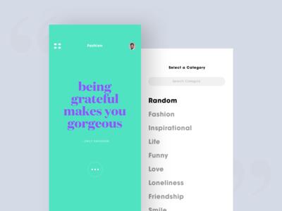 Quote Generator App
