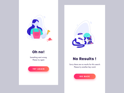 Blankstate Designs ios app clean graphic design illustrations blankstate