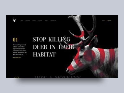 Save Deer In Their Habitat