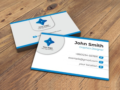 Simple Business cards white design cards simple cards illustration business cards design branding visiting cards graphic design