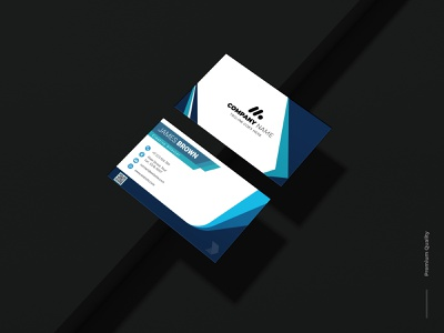 Professional Business Card. brand