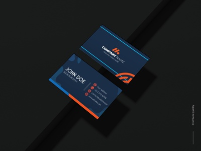 Professional Business Card. graphic design