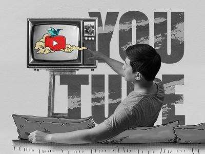 Youtube bird illustrations photo youtube branding design graphics illustration