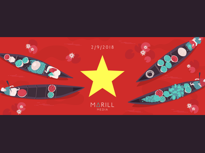 Cover facebook for Vietnam National Day 2018