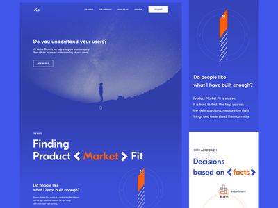Viable Growth Landing Page lean startup growth landing page website