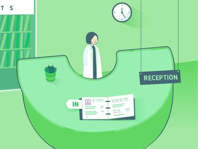 Zen Waiting Room & Chart Poster