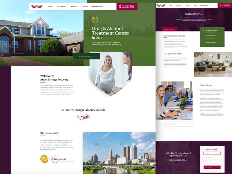APR Website Redesign redesign website addiction rehabilitation recovery rehab