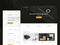 Printers & Engravers Website