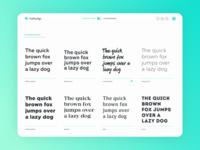FontFace Dojo Popular font list