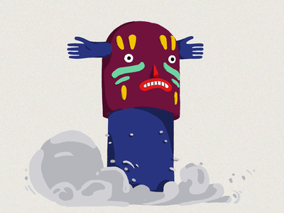 Totem digital adobe illustration totem
