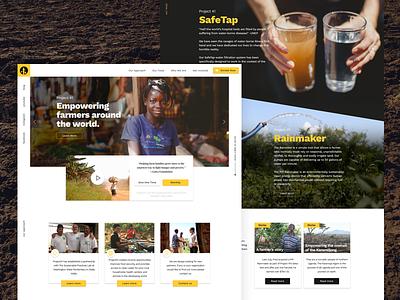 Project41 Homepage WIP landing page website mainpage homepage ui nonprofit wip web