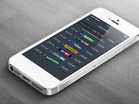 Fantasy racing mobile app for iOS
