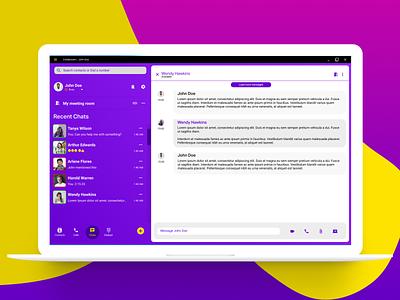 Collaboration App figma responsive web design desktop app responsive design uxdesign ux  ui ui design