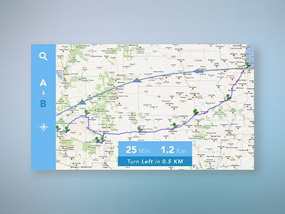 Navigation Widget clima car nav dashboard sketchapp sketch user interface dailyui