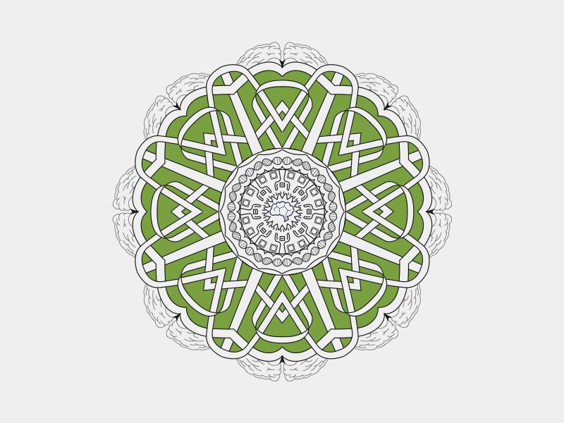 Mandala dribble