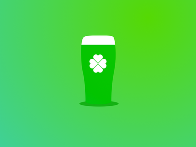 Happy St Paddys Day sketch design guiness green clover st patricks day irish