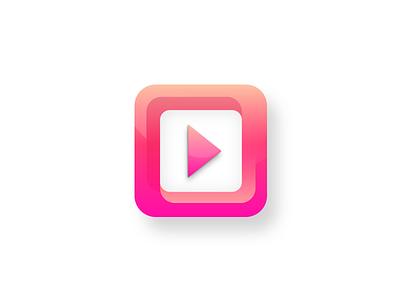 App icon - Gradients and Shape Study valentinciobanu.com logo fresh modern gradient sketch mobile design app icon