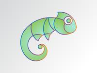 Chameleon Logo - DLC #15