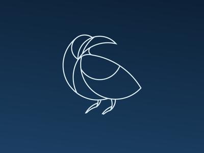 Crow - Day #19 vmdx illustrator icon illustration logo design art