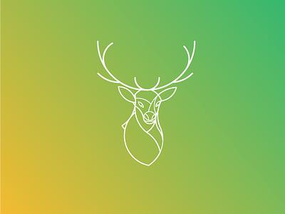 Deer Logo Design latest logo logo trends 2017 simple logo golden ratio in design