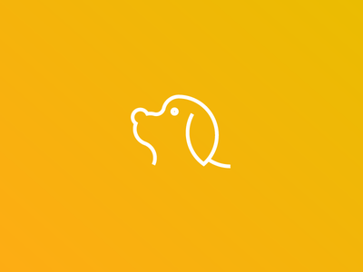 Dog Logo - Day #21 golden ratio adobe illustrator icon logo design illustration dog