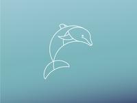 Dolphin Logo Desgin
