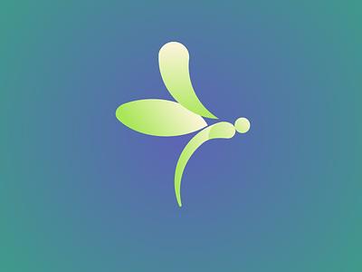 Dragonfly Logo daily logo challenge valimdx illustrator icon illustration design logo