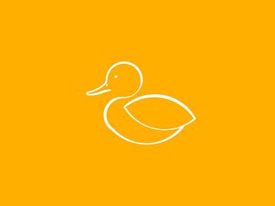 Ducky - day #24 vector illustrator golden ratio modern logo icon duck daily logo challenge