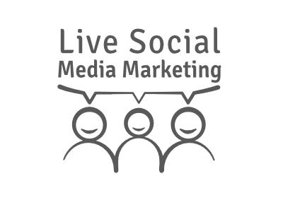 Social media Marketing Logo illustrator logo marketing social media