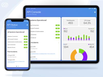 API Console Status App