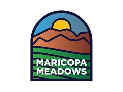 Logo Design: Maricopa Meadows logo icon branding illustration vector design