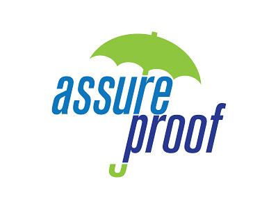Logo Design: Assure Proof logo icon branding illustration vector design