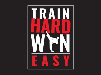 T-Shirt Design: Martial Arts School t-shirt typography logo icon branding illustration vector design