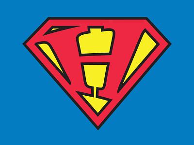 T-Shirt Design: Superhero Inspired t-shirt typography logo icon branding illustration vector design