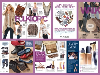 Print Design: Stage Stores campaign retailers retail design graphic design branding design