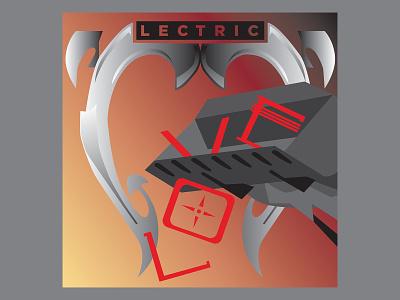 Rock ReImagined: Electric albumdesign houstondesigner hamburgsolutions rockreimagined rockart rocknroll electric thecult albumart vector illustration design des graphic design