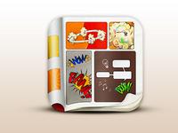 Comic Book iOS Icon