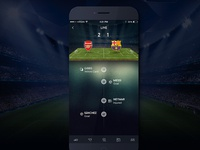 Soccer App - Live Ticker