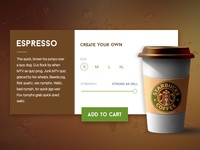 Coffee Product Card