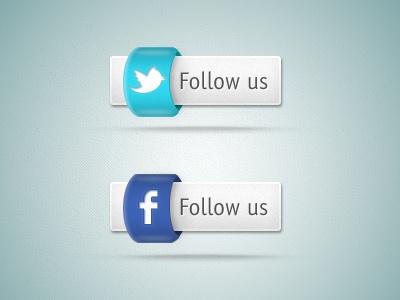 Social Media Icons icon social media facebook twitter follow