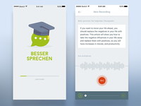 Talk Better - App UI Design