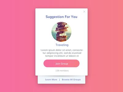 Dialog UI Design ios widget ui design dailyui ux design clean sleek ui modern app