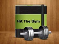 Hit The Gym - App Icon