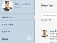 WebApp Sidebar