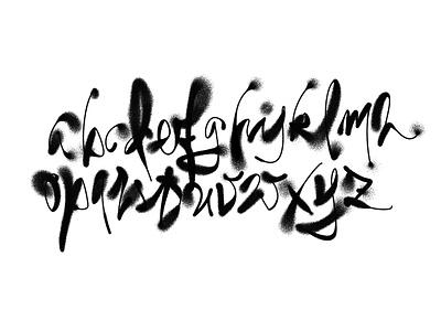 alphabet experiments photoshop alphabet experiment black letters brush calligraphy