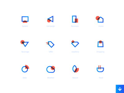 Sans icon set iconography web typography branding onboarding illustration ui icons