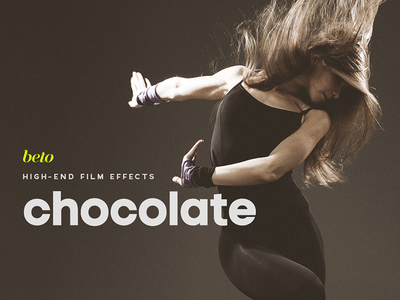 Chocolate Action elements photoshop aged soft drawing blur noise old vintage retro film dark