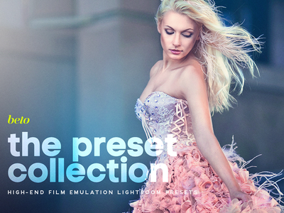 The Preset Collection film preset collection looks magazine matte crush fade elements lightroom photoshop