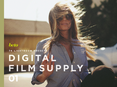 Digital Film Supply 01  photographer raw end high retouch bundle professional styles van visual film vsco